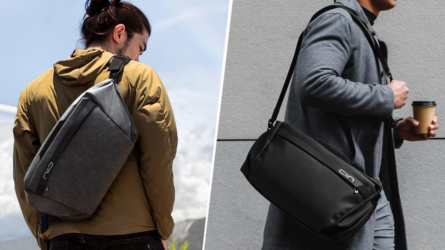 Có gì mới với chiếc túi đa năng CACHE-Hybrid Tech Sling and Duffle mà NIID mang đến cho chúng ta tại Kickstarter?