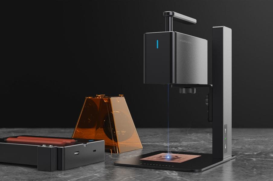 LaserPecker: Trở thành nhà điêu khắc laser thật dễ dàng với Máy khắc & cắt laser cầm tay