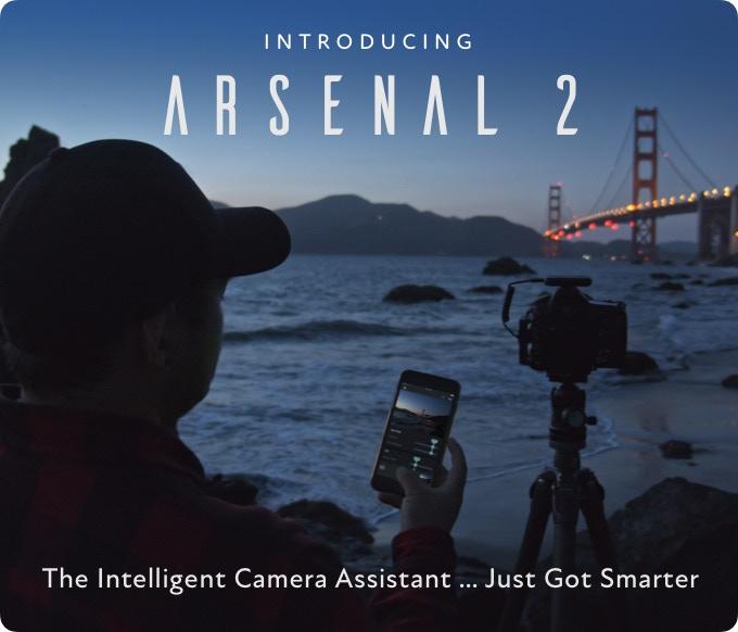 Arsenal 2: Trợ lý thông minh cho máy ảnh